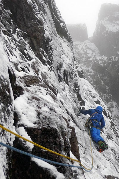 Nick Bullock on the long awaited second ascent of a Guerdon Grooves in Scotland's Glen Coe, 28 years after the first ascent.