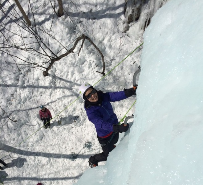 Introductory Ice Climbing in New Hampshire